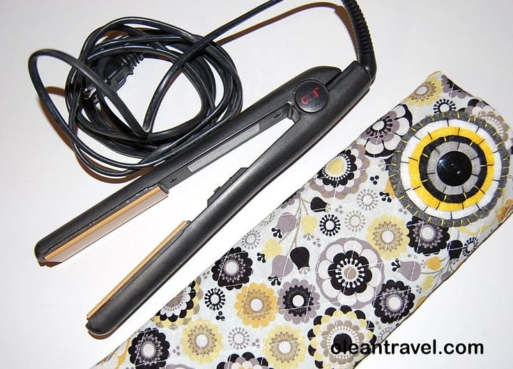 Flat Iron Holder, Curling Iron Holder, Curling Iron Travel Bag, Flat Iron Case, Flat Iron Cover, Flat Iron Sleeve, Yellow, Black, Quilted - http://oleantravel.com/flat-iron-holder-curling-iron-holder-curling-iron-travel-bag-flat-iron-case-flat-iron-cover-flat-iron-sleeve-yellow-black-quilted