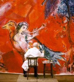 Jusqu'au 31 janvier 2016 - Marc Chagall, Le triomphe de la musique à la Philarmonie de Paris