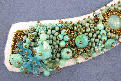 Mermaid's Attire by Sherry Serafini Bead Embroidery Necklace ...