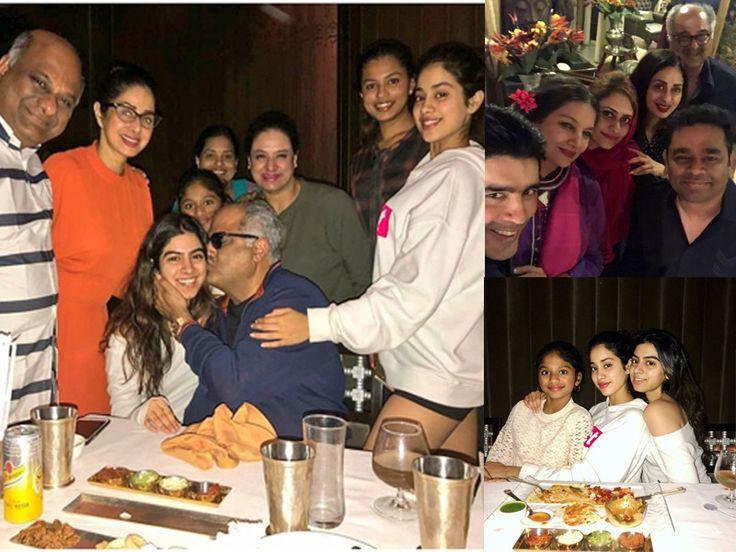 Sridevi hosts grand b'day bash for hubby Boney Kapoor