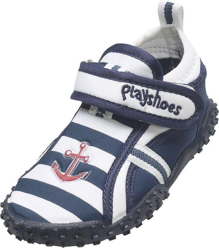Playshoes Aquaschuhe, Badeschuhe Maritim mit höchstem UV-Schutz nach Standard 801 174781 Jungen Aqua Schuhe: Amazon.de: Schuhe & Handtaschen