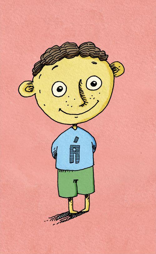 children illustration by Igor Lazin
