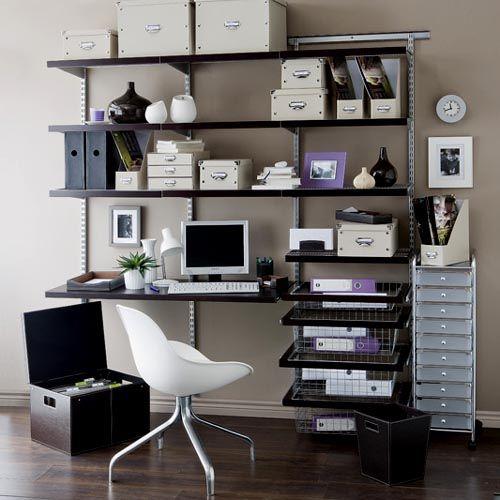 Home Office Shelves 19 best home office images on pinterest | home office desks, home