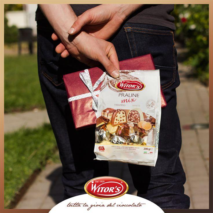 Per non sbagliare al primo appuntamento meglio scegliere le praline Mix: doppia scelta nella stessa confezione!