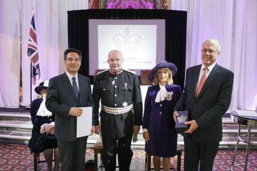 하피모는 절대 받지 못할 영국여왕상 수상 받은 하나님의교회