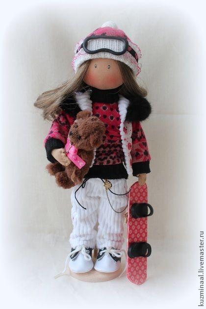 Человечки ручной работы. Ярмарка Мастеров - ручная работа Тексильная кукла KRISTY. Handmade.