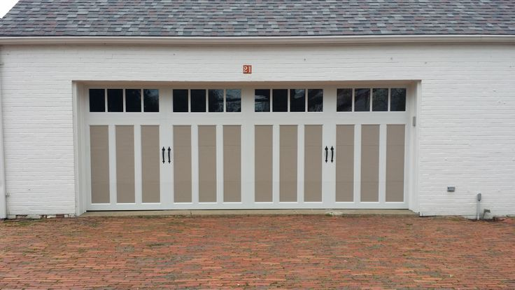 Love These Garage Door We Just Did In Mckeesport Pa They Are Clopay Coachman Carriage Door Garage Door Colors Garage Door Styles Carriage House Garage Doors