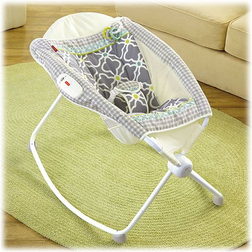Newborn rock n play sleeper great for preemies and babies with reflux