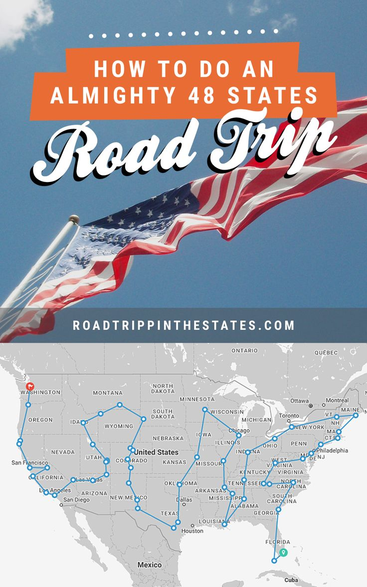 How to do an almighty 48 states road trip... solo! Click through for our guide on Road Trippin' The States