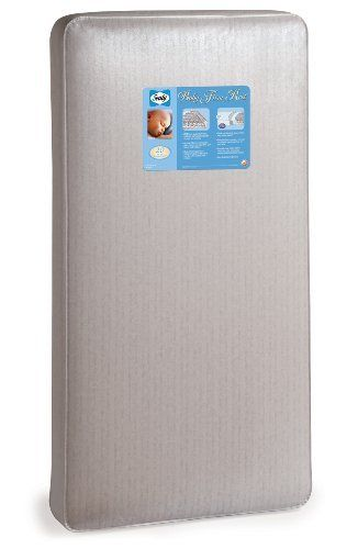 Sealy Baby Firm Rest Crib Mattress by Sealy. $74.99. STAPH-GARD laminate cover provides an antibacterial and anti-static surface. Support bars help distribute you baby's weight evenly over the entire crib mattress surface and all-around border rods keep the sides, corners and edges firm--just like an adult mattress. Mattress is made in the USA and includes a 20 year warranty on workmanship and materials. Mattress also fits toddler bed frames. Two non-allergenic layers provid...