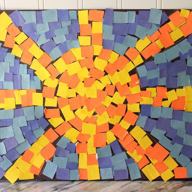 How to Make Roman Mosaics for Kids