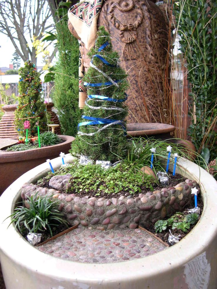 Secret Garden: 1000+ Images About Miniature Gardens: Holiday Centerpiece
