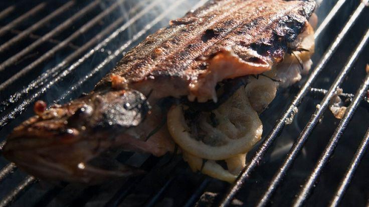 Pesce alla griglia: tecniche di cottura con la griglia e il barbecue americano.