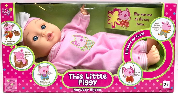 #keywebco Baby Doll This Li... found at  http://keywebco.myshopify.com/products/baby-doll-this-little-piggy-nursery-rhyme-sings-little-piggie-toy-new?utm_campaign=social_autopilot&utm_source=pin&utm_medium=pin
