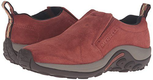 Merrell Women's Jungle Moc Mountaineering Boot  This moc creates your ultimate low-maintenance shoe, featuring a smooth suede upper and Merrell air cushion underfoot for extra assistance.