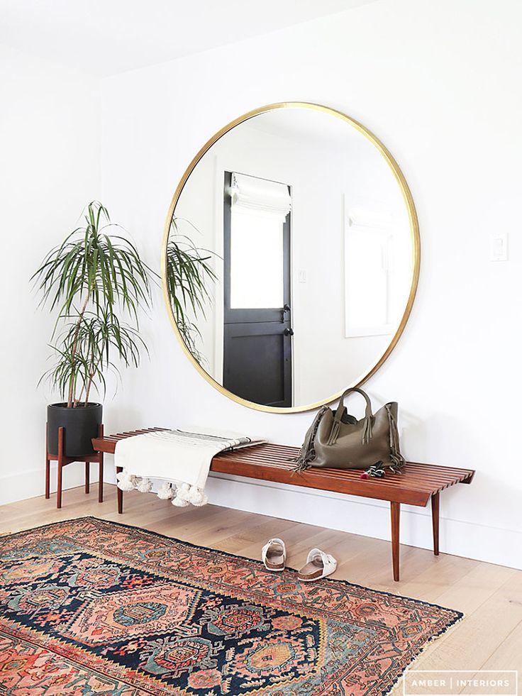 Round mirror (OsloDeco)