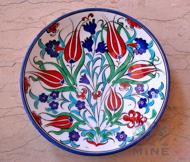 Turkish ceramics to hang on walls