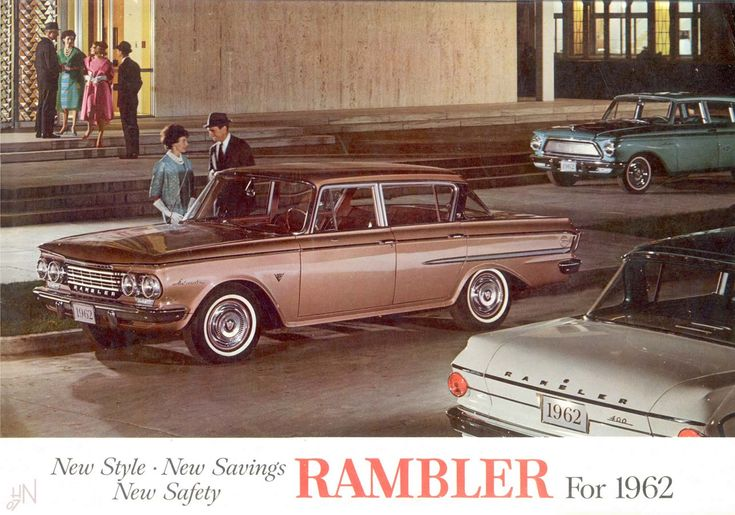 1962 rambler rambler amc car brochures pinterest for Garage renault bouc bel air
