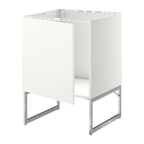 IKEA - METOD, Unterschrank für Spüle,  , Häggeby weiß, , Die Tür kann wahlweise…
