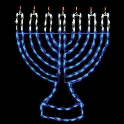 Outdoor LED Menorah Display - 150 Bulbs · Outdoor DecorationsHoliday  DecorationsMenorahHanukkahChristmas ... - 20 Best OUTDOOR MENORAHS Images On Pinterest Menorah, Hanukkah