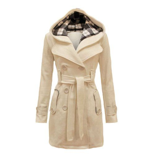 Envy Boutique Women's Military Button Hooded Fleece Belted Jacket Coat Plus Cream 6 Envy Boutique http://smile.amazon.com/dp/B00KRC2C66/ref=cm_sw_r_pi_dp_5tRoub15C8809