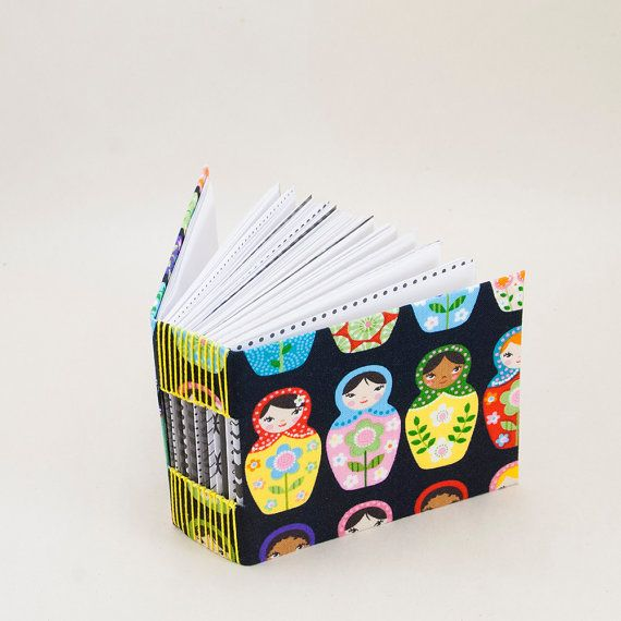How cute is this?!  Bitty Blank Journal with a Page for Every Day of the Year