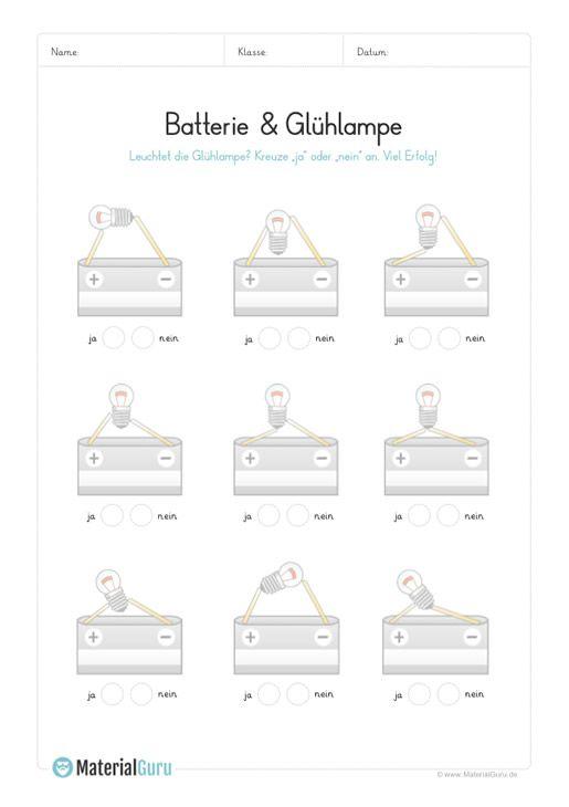 ein kostenloses arbeitsblatt zum thema strom auf dem die kinder ja oder nein ankreuzen. Black Bedroom Furniture Sets. Home Design Ideas