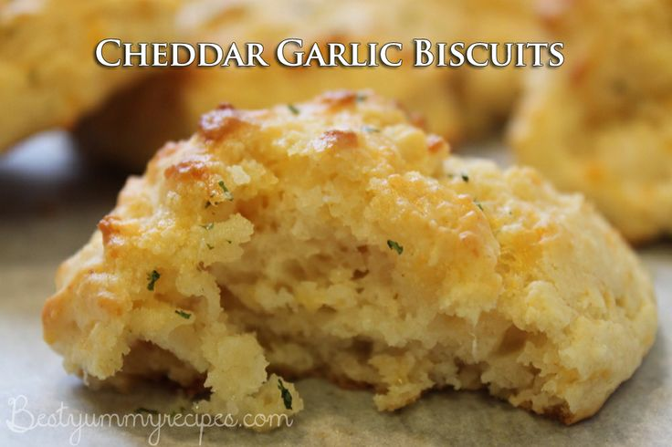 Cheddar Garlic Biscuits | FOOD yumyum | Pinterest
