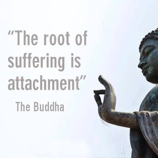 Do take issue with some of the great Buddha's remarks  - no doubt the above is true, but how do we not care, nor love another human or pet...in order to avoid the suffering when we must part?   We are somehow feel an attachment, a closeness.