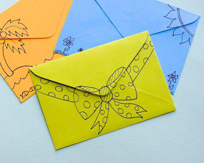 Omiyage Blogs: Send Pretty Mail #36/37/38 - Doodle Collages