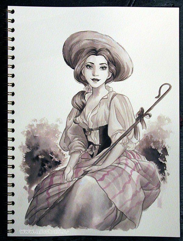 Belle des champs by HollyBell.deviantart.com on @DeviantArt
