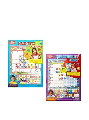 25% OFF T.S. Shure My Magnetic Calendar & Responsibility Chart Set