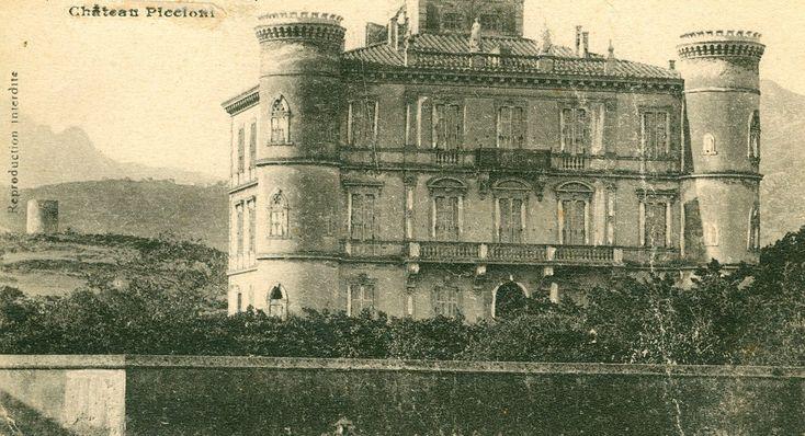 Ile Rousse (Corse) – le château Piccioni. Aujourd'hui hôtel Napoléon