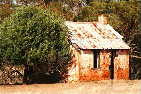 Pioneer's cottage. New Norcia. Western Australia