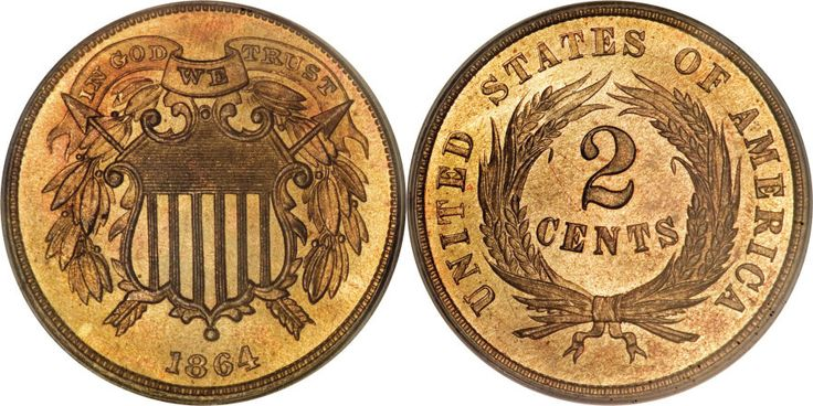 Shield Two Cents Value
