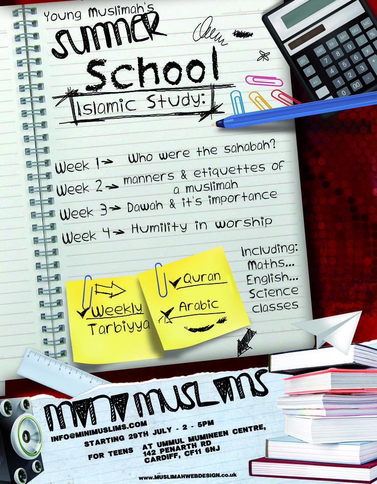Summer school for muslim kids
