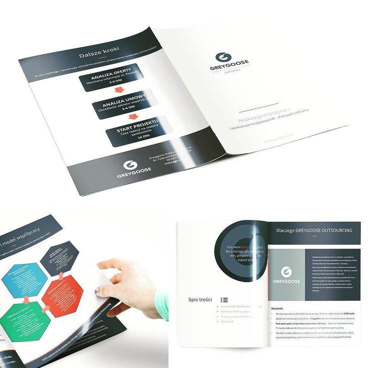 Projekt graficzny i wydruk katalogow dla firmy Greygoose #projektgraficzny #graphicdesign #katalog #brochure #mgraphics #buskozdroj #nadajemyksztaltypomyslom www.mgraphics.eu