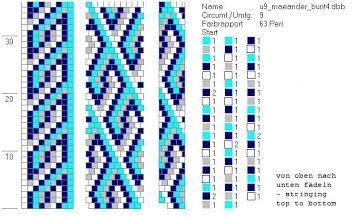 9 around beading patterns