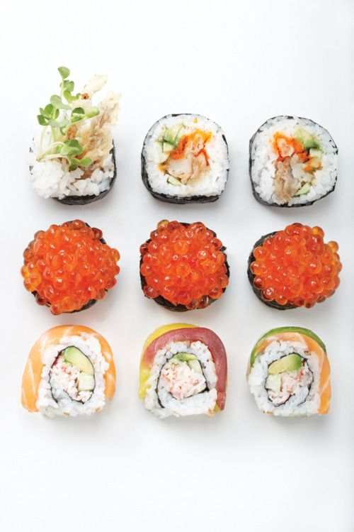 #sushi #japan #Japanese #food #home #yourhomemagazine # cooking #fish #rice #recipes #meat