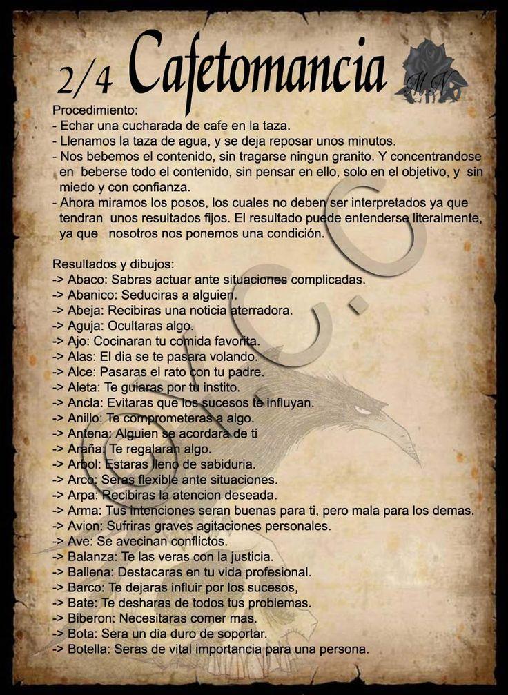 Trastos de Bruja: Cafetomancia 2/4