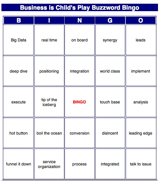 Ideas Boom or Buzzword Bingo? Government speech is light on details