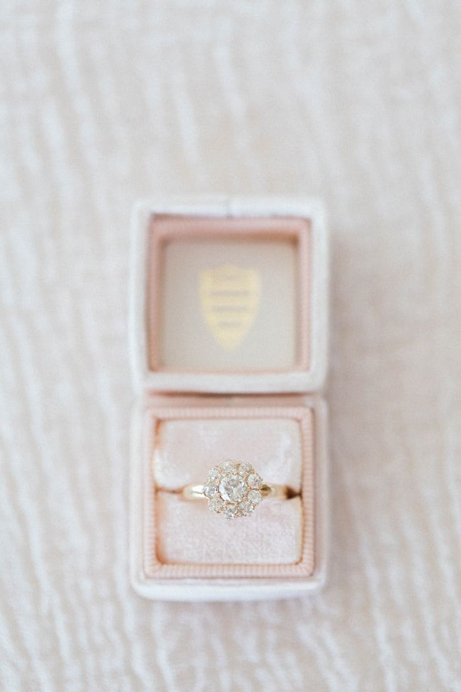 #ring in the mrs box from Blue Berry Farm shoot in Indiana http://www.trendybride.net/blue-barn-berry-farm-indiana-shoot/ {trendy bride}