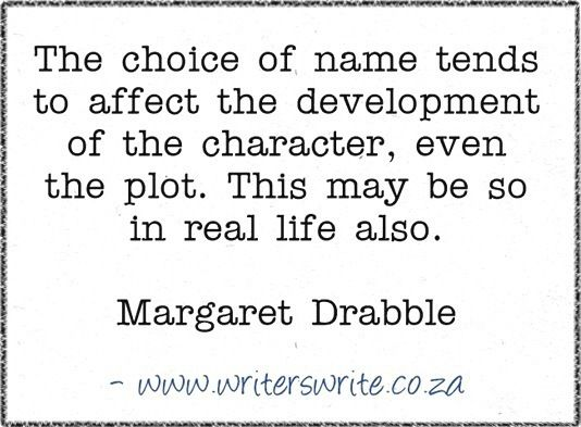 Quotable - Margaret Drabble - Writers Write