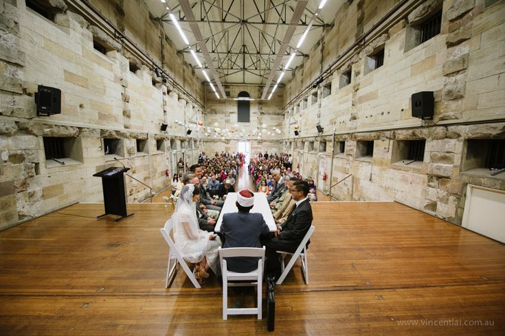 National Art School Cell Block Theatre Wedding