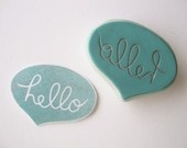 Eat Pray Create custom rubber stamps - awesome