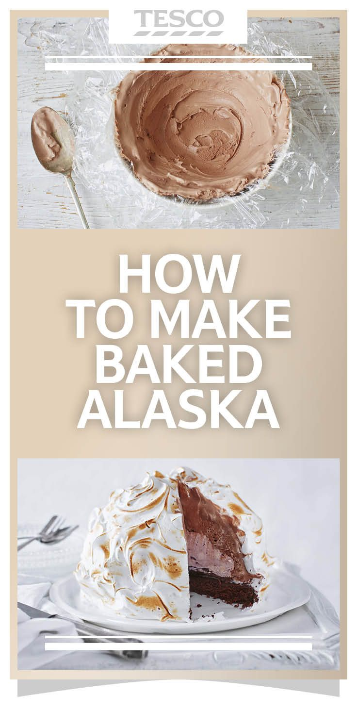 Baked Alaska is ultimate ice cream dessert - Find out how to make this showstopping pudding in six easy steps. | Tesco
