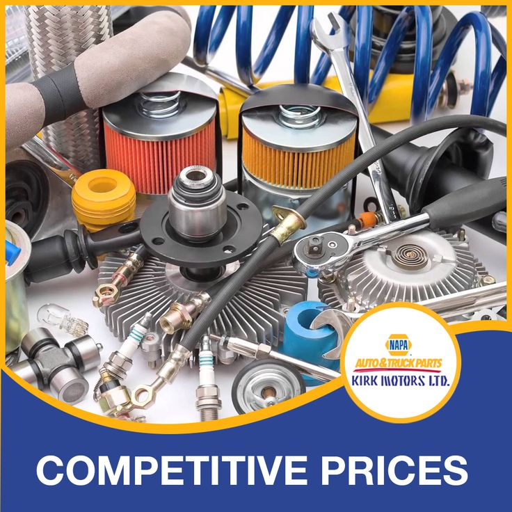 Competitive prices, quality parts and unparalleled
