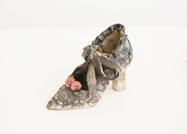 Julie Scott - Secret Keepers #ceramic #IrishArt #JulieScott