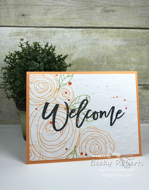Welcoming new team members in one of my favorite parts of this business! Today I have a batch of Welcome cards that all went out this wee...