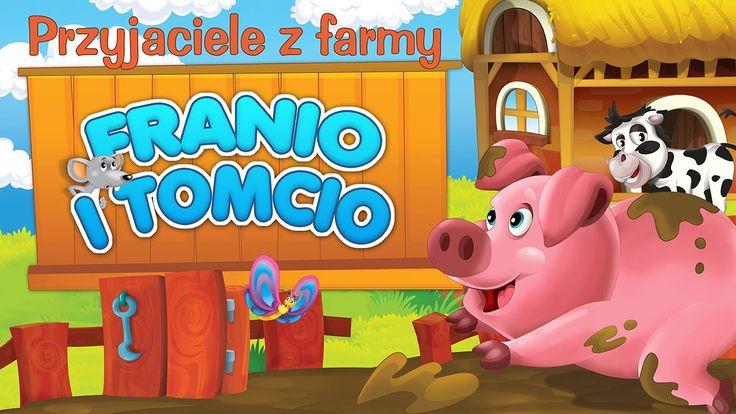 Bajka dla dzieci - Przyjaciele z farmy - Franio i Tomcio - o śwince i ci...